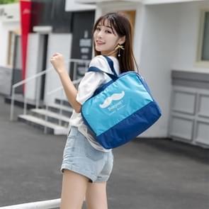 Buiten multifunctionele waterdichte groot strand tas Travel Bag toilettas Bag(Pink)