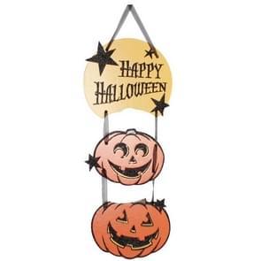 Halloween opknoping pompoen hanger partij Ornament decoratieve karton  grootte: 40 * 16cm