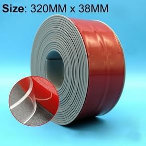 38mm PVC keuken en badkamer waterdicht en schimmel bewijs tape  Length:3.2m(Grey)