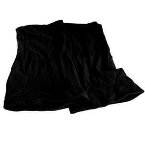 5 stuks hoge elastische zijden sokken nep haar netto pruik Liner Caps haarband Mesh  B(Black)