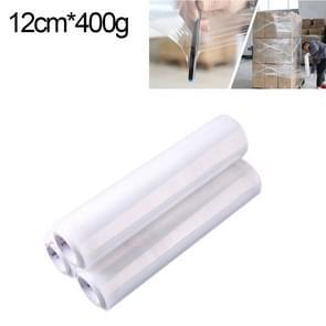 PE transparant Stretch Wrap Film (breedte: 12cm  lengte: 220m)