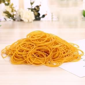 Gele stevige stretch elastisch Rubber Bands School Supplies Kantoorbenodigdheden  1KG Per zak