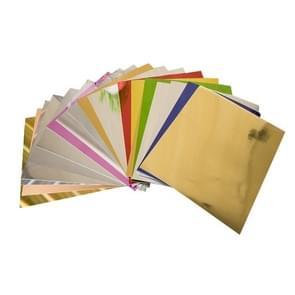 50 PCS A4 Size Foil Papers, Random Colors Delivery
