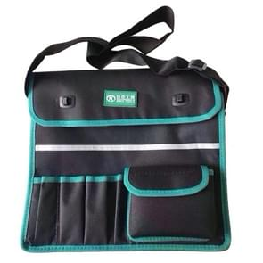 01 Type Multi-function Canvas Cloth Thickening Electrician Belt Pouch Maintenance Tools Shoulder Bag Convenient Tool Bag