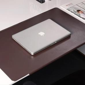 Increase Thickening Table Mat Computer Desk Mat Writing Desk Mats Size: 40 x 65 cm(Brown)