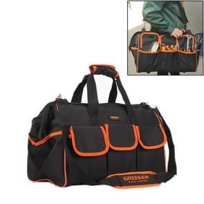 Multifunctionele Oxford doek elektricien Belt Pouch onderhoud Tools handtas schoudertas handige Tool Bag  formaat: 12.5 inch