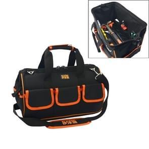 EZRE Multi-function Oxford Cloth Electrician Belt Pouch Maintenance Tools Handbag Shoulder Bag Convenient Tool Bag, Size : 17 inch