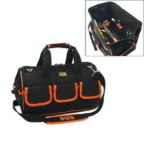 EZRE Multi-function Oxford Cloth Electrician Belt Pouch Maintenance Tools Handbag Shoulder Bag Convenient Tool Bag, Size : 19 inch