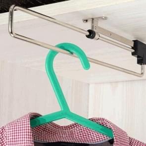Telescopische Rail Pull-Out kledingkast kleren Hanger(35cm)