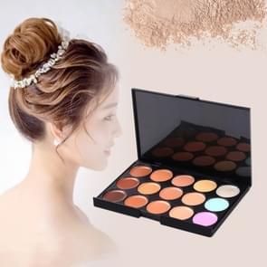 Z15--1 15 kleuren concealer Stichting crème make-up cosmetische palet