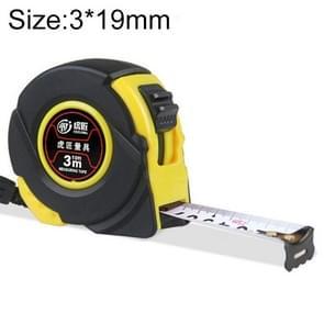 Hujiang 12 PCS slijtvaste Cover intrekbare liniaal meten Tape draagbare Pull liniaal Mini meetlint  lengte: 3m breedte: 19mm