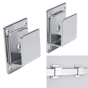 2 PCS Wall Bracket Square Tube Hook for Clothing Store Supermarket Displaying