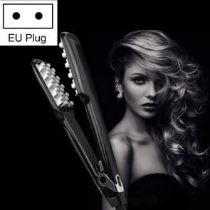WT-042 150W digitaal Display automatisch haar krultang Splint  EU Plug(Black)