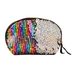 Sequins Shellfish Makeup Bag Mermaid Purses Girl Travelling Mobile Phone Bag(Colour)