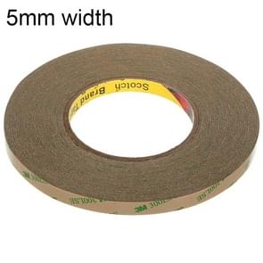 3M300LS 3M Super Adhesive Ultra-thin Transparent and High-temperature Resistant Double-sided Traceless Tape, Size: 55m x 5mm