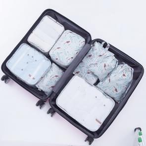 Buiten 8 In 1 multi functie Portable reizen regeling opslag zakken