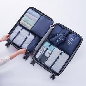 Buiten 8 In 1 multi functie Portable reizen regeling opslag zakken (marineblauw)