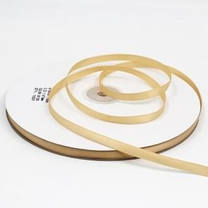 High Density Polyester Hand Woven Ribbon, Size: 91m x 0.6cm(Gold)