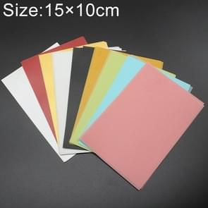 50 PCS Colorful Sulfuric Acid Paper Card for Rubber Stamp 15*10cm