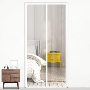 Magic Mesh Magnetic Mosquito-proof Screen Door Curtain, Size:210x100cm(White)