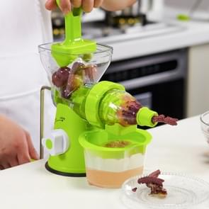 D569 Household ABS Manual Juice Cup Squeezer Fruit Reamers(Green)