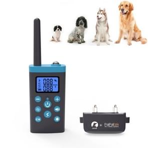 Automatic Anti Barking Collar Pet Training Control System + Electric Shock PU Leather Collar for Dogs