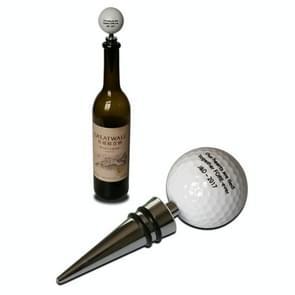Golf + Tee Shape Red Wine Bottle Stopper, Size:11.5cm, Color Random Delivery