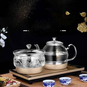 Pumping Type Automatic Add Water Full Intelligent Electric Glass Kettle Pumping Boiled Tea Stove Set