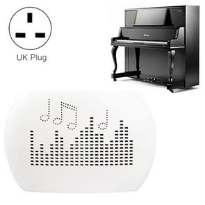 INVITOP Mini Portable Piano Musical Instrument Moisture-proof Dehumidifier Wardrobe Kitchen Shoe Cabinet Automatic Moisture Absorber, UK Plug(White)