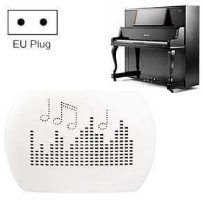 INVITOP Mini Draagbare piano muziek instrument vochtbestendige Ontvochtiger garderobe keuken schoen kast automatische vocht demper  EU stekker (wit)