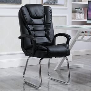 QZ-7 Home moderne eenvoudige computer stoel Office baas stoel conferentie stoel (zwart)