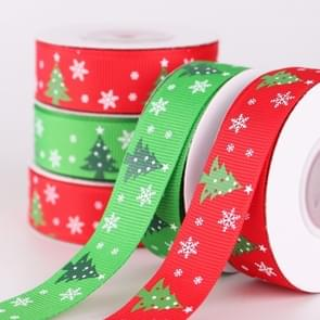 5 PCS Double-sided Christmas Gift Box Flowers Packing Coloured Ribbon, Width: 2cm, Random Color Delivery