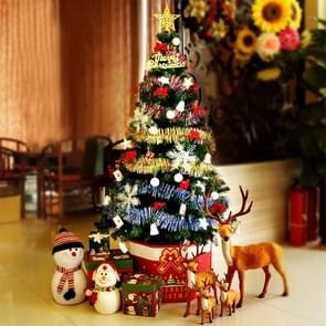 Christmas Tree Decoration Home Christmas Ornaments with Coloured Lights, Size: 1.5m