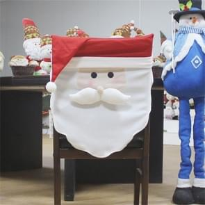 Santa Claus patroon diner tafel stoel cover kerst decoratie