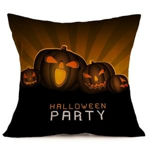 Halloween Decoration patroon Car Sofa Pillowhoesje met Decorative Head Restraints Home Sofa Pillowcase, L, Afmeting:43*43cm