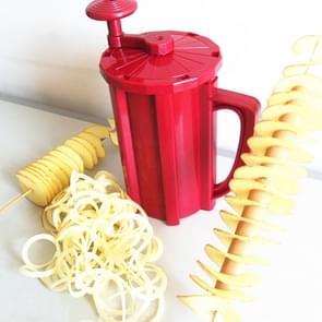 528-6 Popular Tornado Potato Slicer Manual Twist Spiral Potato Cutter Whirlwind Potatoes Machine Potato Vegetables Tools
