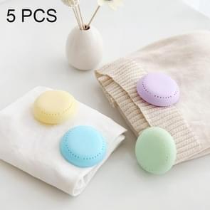 5 pc's plakken Type kleverige Candy Color kledingkast aromatherapie vak meeldauw insecten Schoenpoetsen kabinet kledingkast Deodorant geur vakken  willekeurige kleur levering