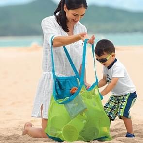 Portable Mesh kinderen strand baggeren Tools Toy snelle opslag Bag handtas