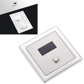 Inbouw wand in type flush ventiel voor auto-inductie toilet, met automatische en manuele functie DC AC