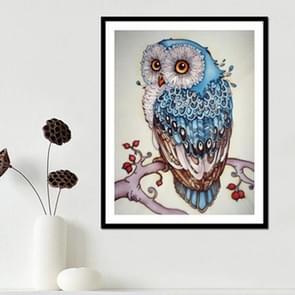DIY 3D Diamond borduurwerk Owl schilderij  grootte: 24 * 39cm