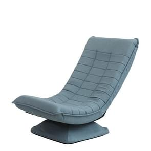 X3 Casual Lazy Sofa Foldable Rotating Creative Fabric Sofa Chair (Lake Blue)
