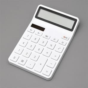 Originele Xiaomi Mijia rijst Calculator 12-bits LED-Display ABS materiaal 6 graden (wit)