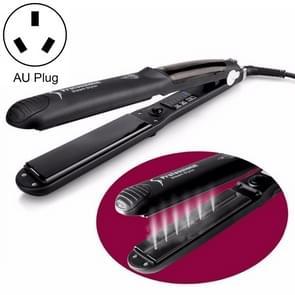 Steam Spray Electric Splint Hair Straightener with Plastic Bottle , AU Plug