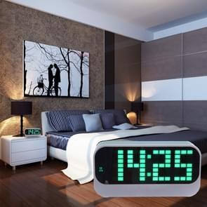Desk Table Digital Backlight LED Alarm Clock with Time & Calendar & Temperature Display