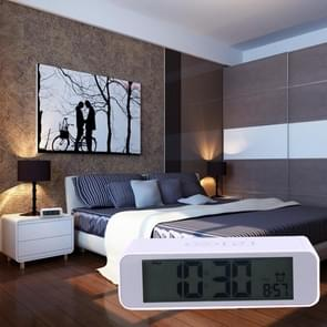 Desk Table LCD Digital Display Alarm Clock with Time Display & Snooze Mode