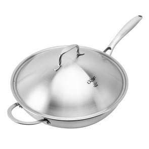 LXBF LX-3CG-302 Stainless Steel Non Stick Wok Cooking Pot