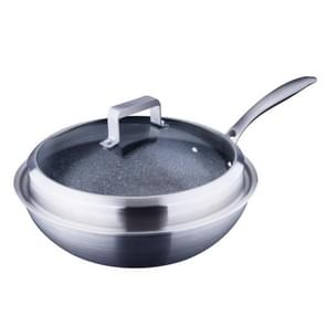 LXBF LX-3CG-30T2 Compound Steel Non Stick Wok Cooking Pot