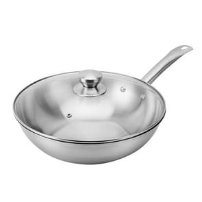 LXBF LX-3CG317m Stainless Steel Non Stick Wok Cooking Pot