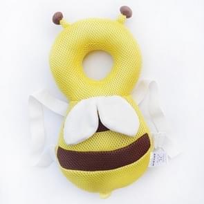35cm zomer ademend gele Bee patroon schokbestendige hoofd Pad voor Baby kinderen Waliking