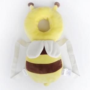 Grote gele pluche Bee patroon schokbestendige hoofd Pad voor Baby kinderen Waliking